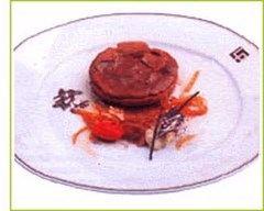 Recette tarte à la vergeoise brune et au confit d'endives