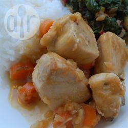 Recette sauté de poulet aux carottes et à la confiture d'abricot ...