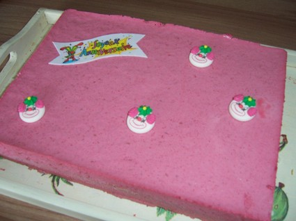 Recette de gâteau à la mousse de framboises
