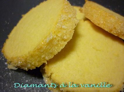Recette de diamants à la vanille
