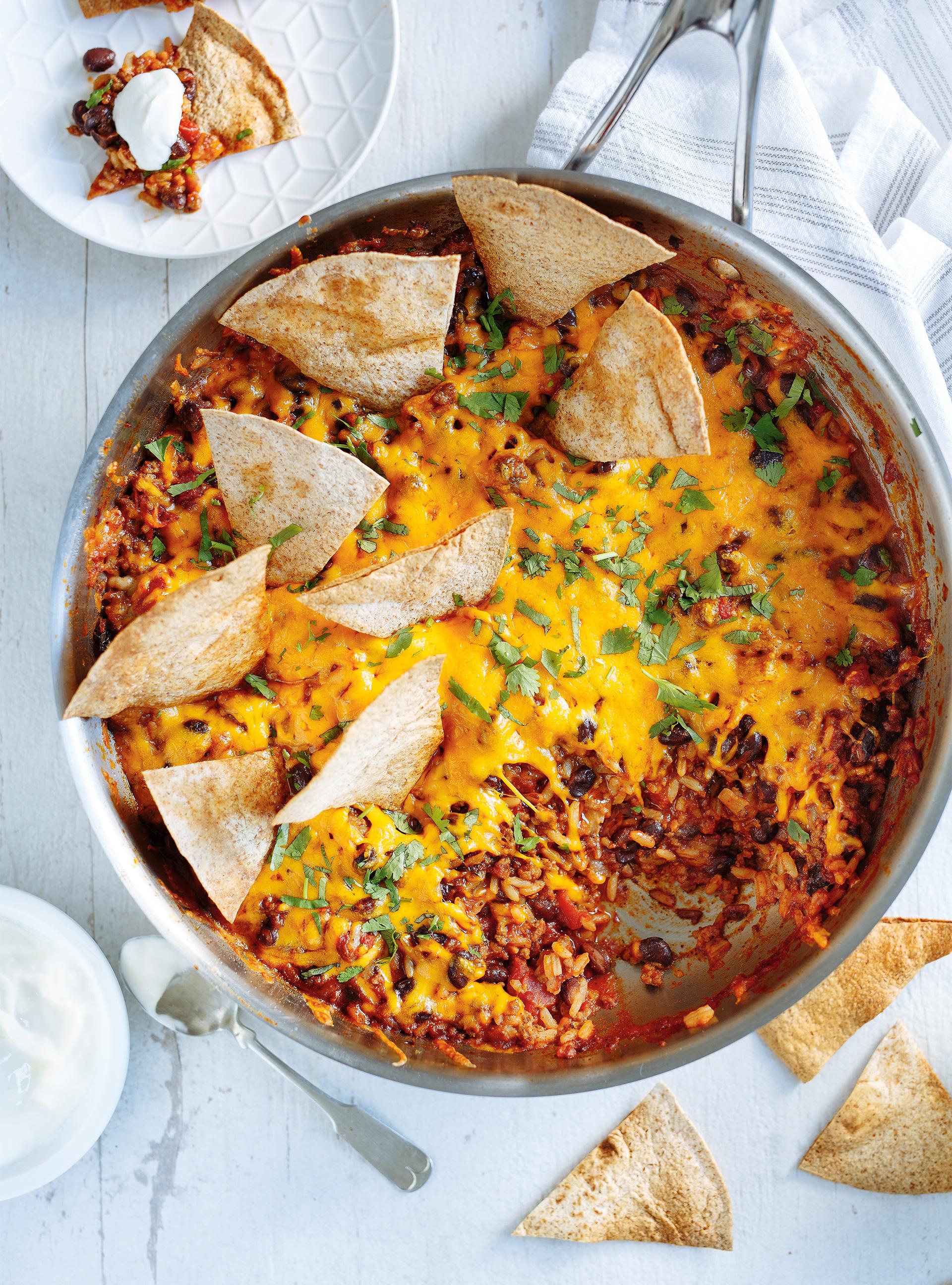 Casserole mexicaine « burrito » | ricardo