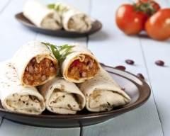 Recette burritos mexicains façon mix-grill