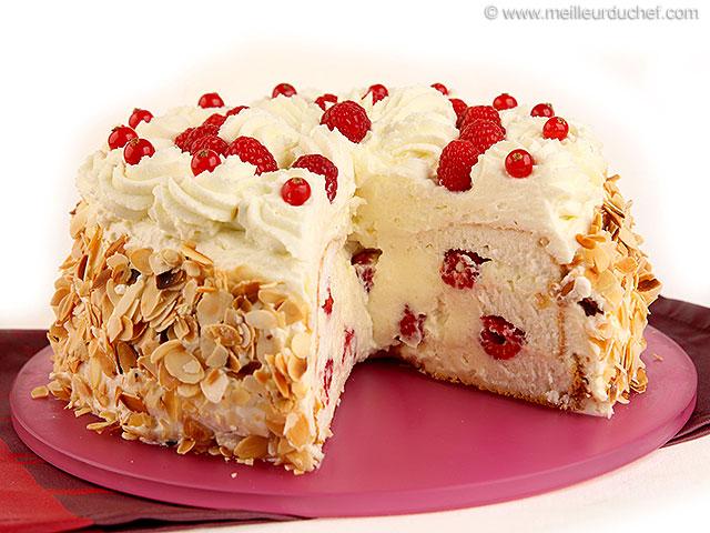 Gâteau des anges surprise  recette de cuisine illustrée ...