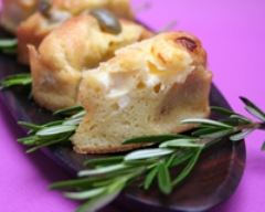 Recette minis cakes aux olives et à la vache qui rit
