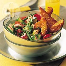 Recette salade maraîchère au brie – toutes les recettes allrecipes