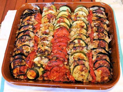 Recette de confit nîmois ou tian provençal