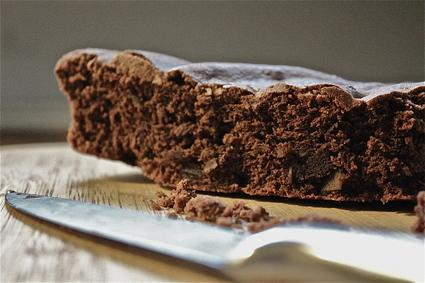 Recette de moelleux au chocolat et amandes sans gluten