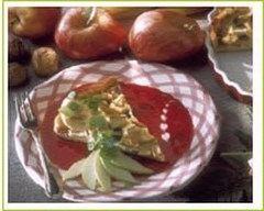 Recette tarte pommes-bananes