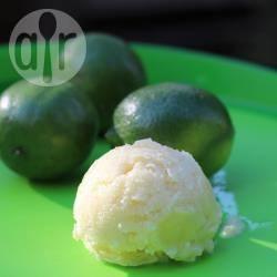 Recette sorbet maison au citron vert – toutes les recettes allrecipes