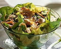 Recette salade de brocolis au poulet