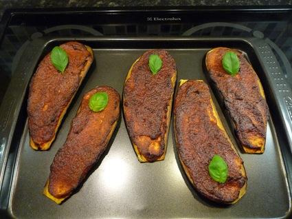 Recette aubergine façon tartine gourmande