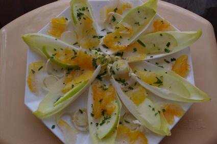 Recette de salade de haddock aux endives et pommes vertes