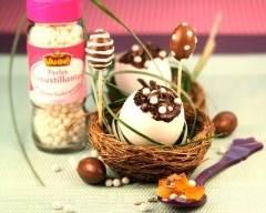 Recette mousse au chocolat aux zestes d'oranges confites