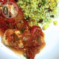 Recette flétan au four à la grecque – toutes les recettes allrecipes