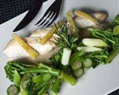 Délice romarin, blanc de volaille et citron confit   cuisine az