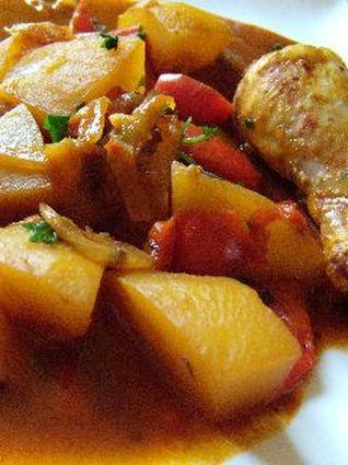 Recette de poulet au paprika