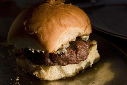 Recette de hamburger au bleu
