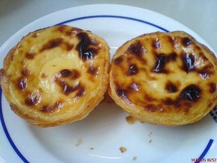 Recette pastéis de nata (tarte salée)