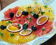 Recette salade d'oranges à la sicilienne