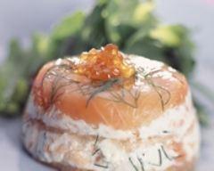 Recette terrine de saumon fumé au fromage frais