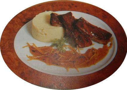 Recette de travers de porc laqué au miel et au gingembre