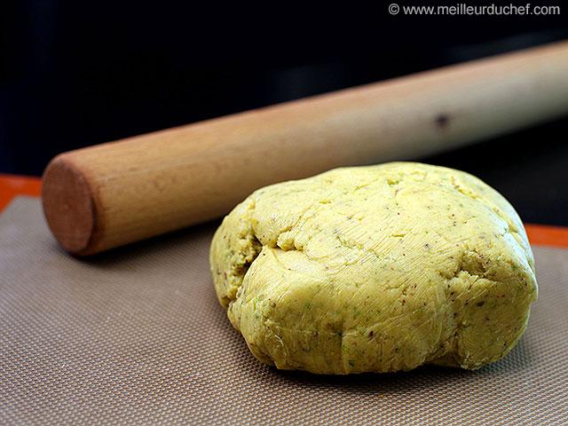 Pâte sablée pistache  notre recette avec photos  meilleurduchef.com