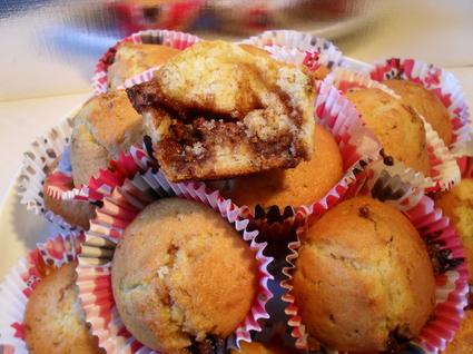 Recette de muffins aux éclats de toblerone