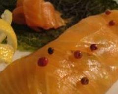 Recette paupiettes de saumon fumé au chou