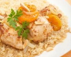 Recette poulet aux abricots express