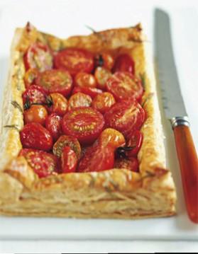 Tarte tomates-pesto pour 4 personnes