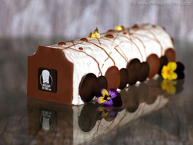 Bûche de noël croustillante au chocolat  fiche recette illustrée ...