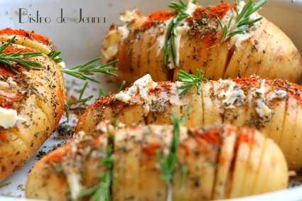 Recette de hasselback potatoes de provence