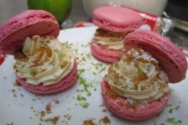 Recette de macaron chocolat blanc, citron vert et spéculoos facile