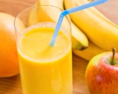 Recette smoothie pomme-banane au yaourt