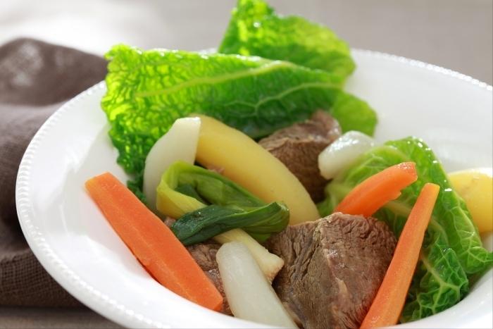 Recette de paleron de boeuf en pot-au-feu de légumes facile et rapide
