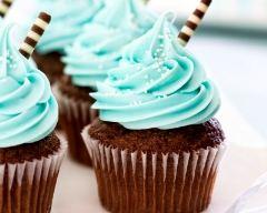 Recette cupcakes au chocolat et à la menthe