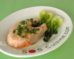 Recette saumon rapide au micro-ondes