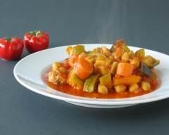 Recette ragoût de légumes et pois chiches