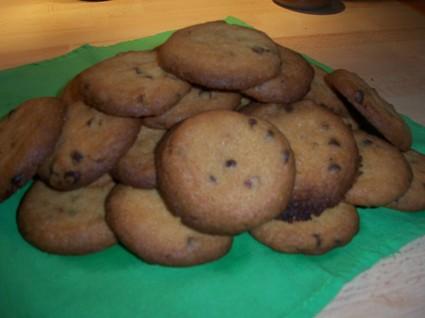 Recette cookies aux pépites de chocolat et nougatine (cookie)