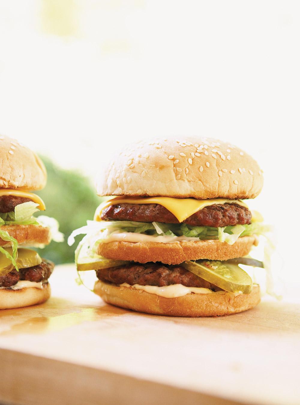 Hamburgers doubles à l'américaine | ricardo