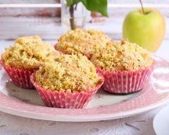 Recette muffins croustillants aux pommes et corn-flakes
