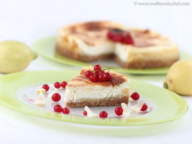 Cheesecake au citron  fiche recette avec photos  meilleurduchef ...