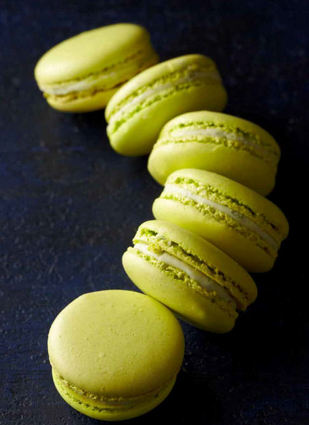Recette de macaron citron vert basilic