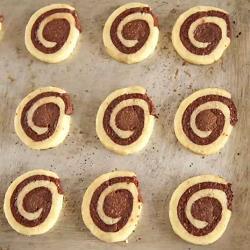 Recette biscuits marbrés chocolat vanille – toutes les recettes ...