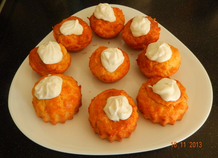 Recette de cupcakes saumon fumé fromage frais