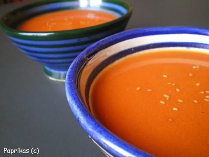 Recette de soupe aux tomates cerises rôties