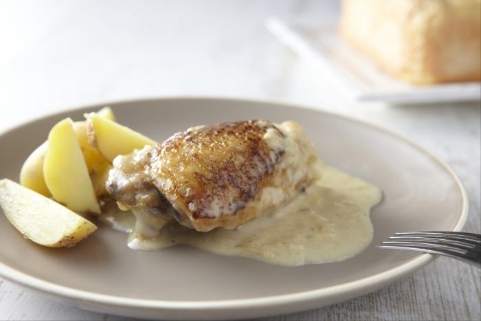 Recette de poulet au maroilles facile et rapide
