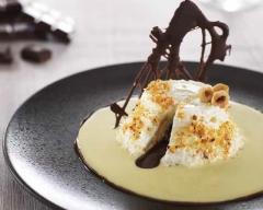Recette coeur coulant au chocolat-praliné, crème anglaise à la ...