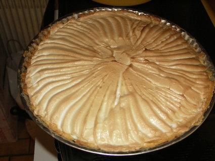 Recette de tarte au citron meringuée rapide