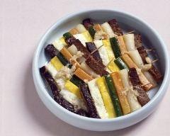 Recette brochettes de viande coréennes aux légumes